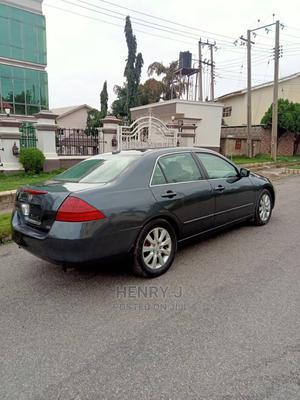 Honda Accord 2006 Sedan LX 3.0 V6 Automatic Gray | Cars for sale in Abuja (FCT) State, Kubwa