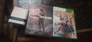 2 Xbox 360 CD : Tomb Raider Exclusive Edition, and Bioshock   Video Games for sale in Edo State, Benin City