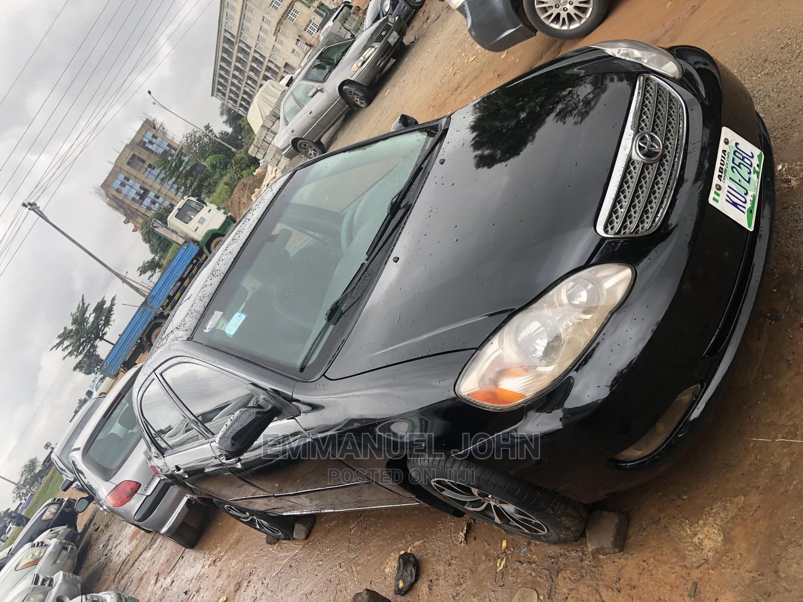 Toyota Corolla 2007 LE Black | Cars for sale in Gaduwa, Abuja (FCT) State, Nigeria