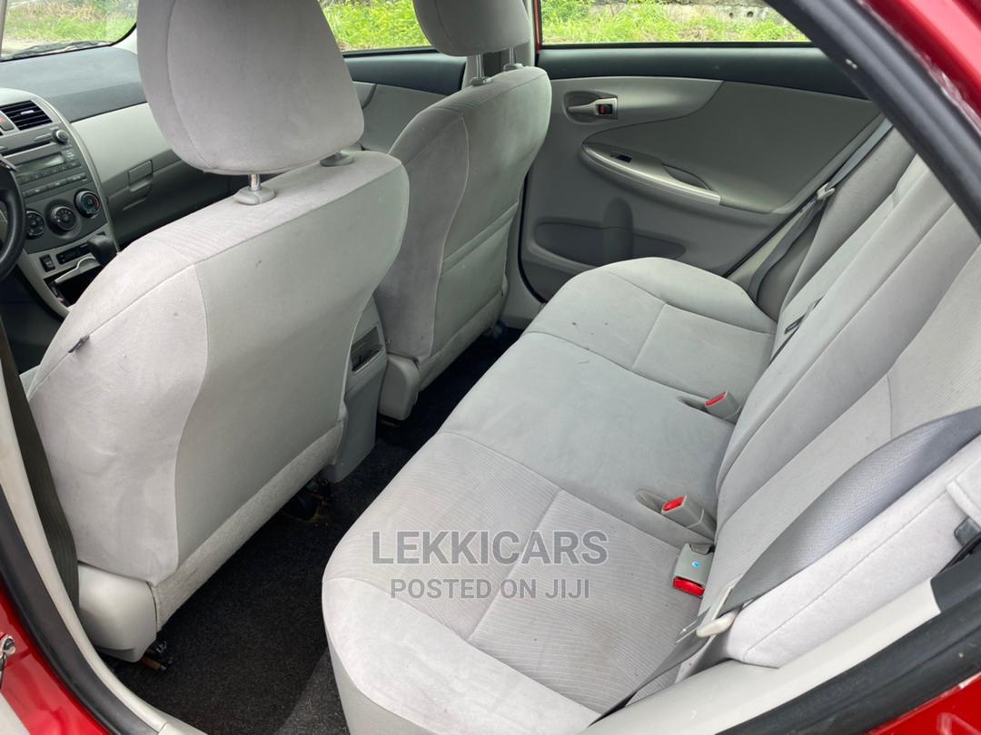 Toyota Corolla 2011 Red   Cars for sale in Ajah, Lagos State, Nigeria
