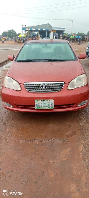 Toyota Corolla 2004 S Red | Cars for sale in Edo State, Ekpoma