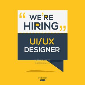 UI/UX Designer wanted | Computing & IT Jobs for sale in Oyo State, Ibadan