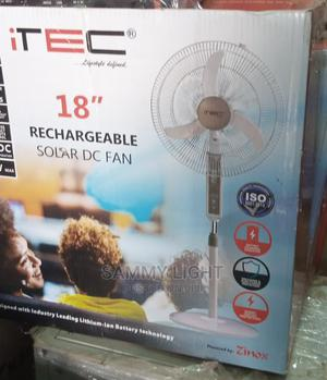 18 Inches Dc/Ac Solar Rechargeable Fan | Solar Energy for sale in Abuja (FCT) State, Garki 2