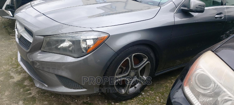 Mercedes-Benz CLA-Class 2014 Gray