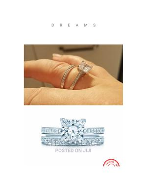Pures Sterling Silver 92.5 Wedding Ring | Wedding Wear & Accessories for sale in Lagos State, Alimosho