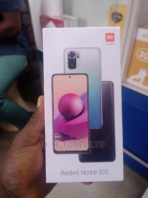 New Xiaomi Redmi Note 10S 128 GB Blue   Mobile Phones for sale in Lagos State, Ikeja