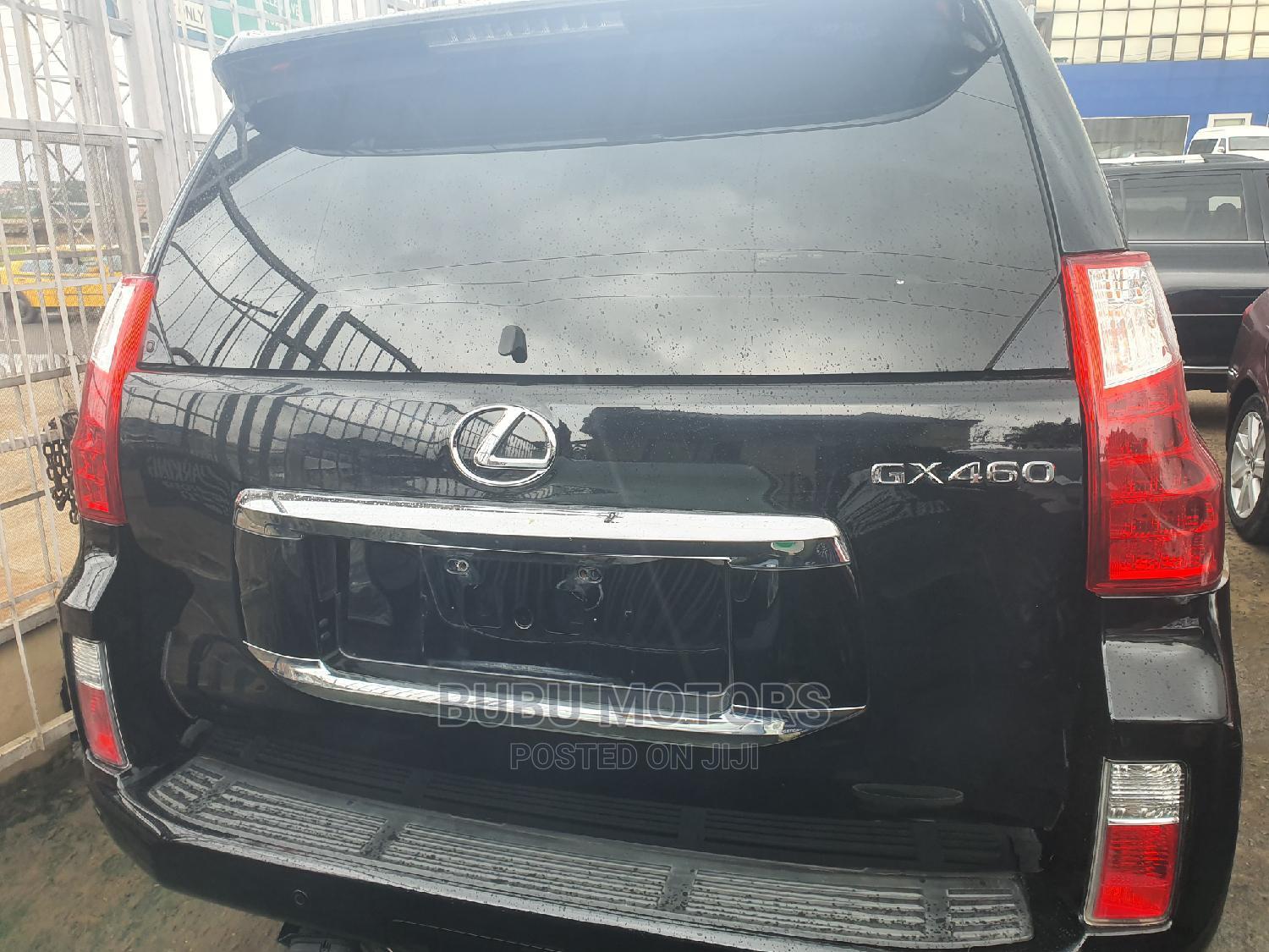 Lexus GX 2012 460 Premium Black | Cars for sale in Ikeja, Lagos State, Nigeria