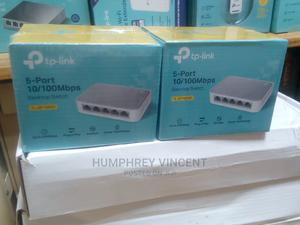 5port 10/100mbps Desktop Switch TL_SF1005D   Networking Products for sale in Lagos State, Ikeja