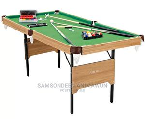 6ft Snooker Table (Foldable)   Sports Equipment for sale in Lagos State, Ikoyi