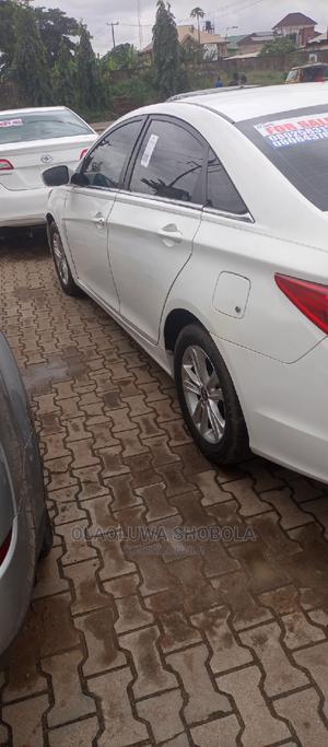 Hyundai Sonata 2011 White | Cars for sale in Lagos State, Abule Egba