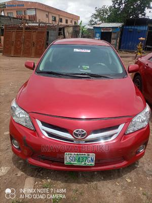Toyota Corolla 2012 Red   Cars for sale in Lagos State, Alimosho