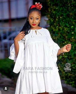 White Mini Flare Dress | Clothing for sale in Lagos State, Alimosho