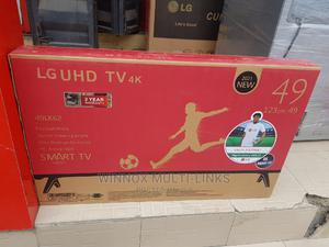 Brand New Lg 49 Inches Smart Android Tv (4k Picture)   TV & DVD Equipment for sale in Lagos State, Shomolu