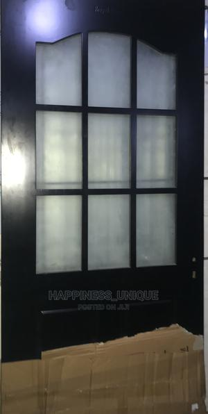 Hardwood With Glass | Doors for sale in Lagos State, Orile