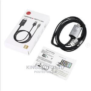 1080p HDTV TV Digital Av Adapter Cord Lightning HDMI TV Av C | Accessories for Mobile Phones & Tablets for sale in Lagos State, Ikeja