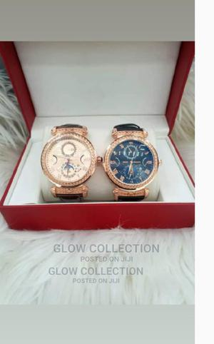 Rolex Leather Wrist Watch | Watches for sale in Lagos State, Amuwo-Odofin