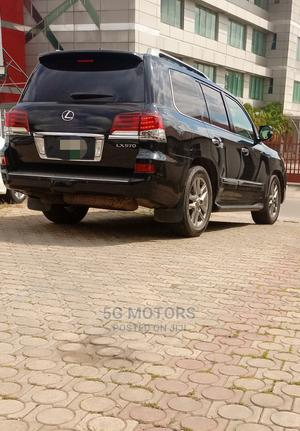 Lexus LX 2014 570 AWD Black | Cars for sale in Abuja (FCT) State, Wuse 2