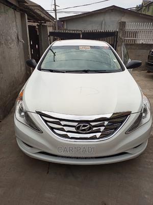 Hyundai Sonata 2013 White | Cars for sale in Lagos State, Abule Egba