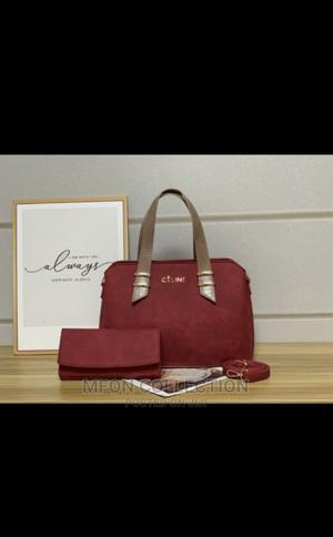 Quality Celine Female Red Handbag | Bags for sale in Lagos State, Ikeja