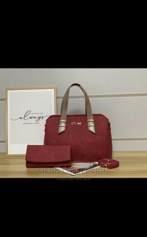 Archive: Quality Celine Female Red Handbag