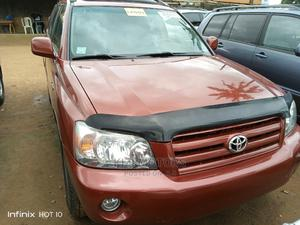 Toyota Highlander 2006 V6 4x4 Red   Cars for sale in Lagos State, Isolo