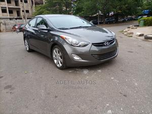 Hyundai Elantra 2012 Gray   Cars for sale in Abuja (FCT) State, Garki 2