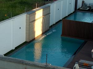Swimming Pool With Flange Water Fall | Building & Trades Services for sale in Lagos State, Ajah