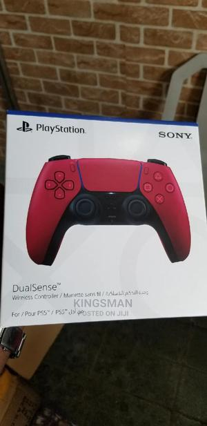 Ps5 Pad Red | Video Game Consoles for sale in Lagos State, Ikeja