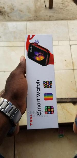 Smart Watch T55+ | Smart Watches & Trackers for sale in Lagos State, Ikeja