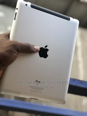 Apple iPad 3 Wi-Fi + Cellular 64 GB Silver   Tablets for sale in Lagos State, Ikeja