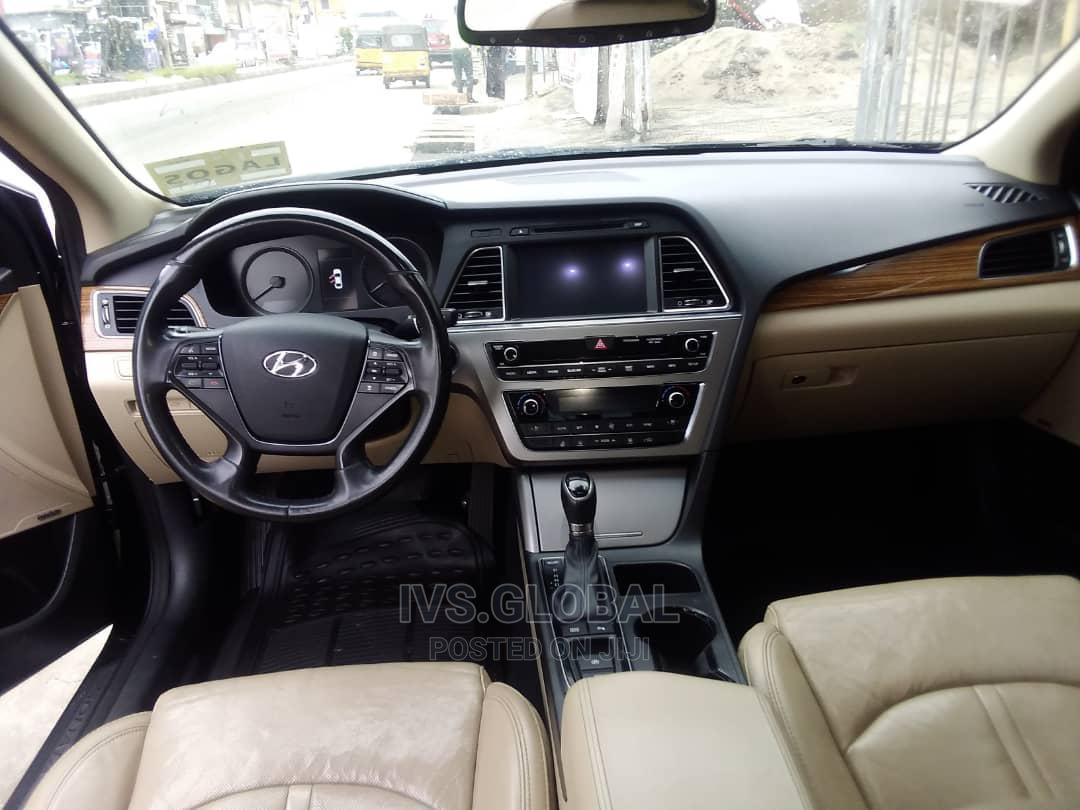 Archive: Hyundai Sonata 2015 Black