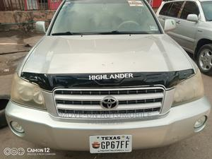 Toyota Highlander 2003 Limited V6 AWD Silver | Cars for sale in Lagos State, Amuwo-Odofin