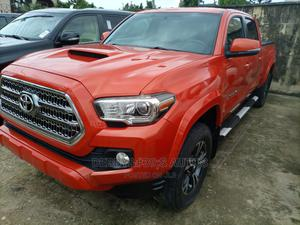 Toyota Tacoma 2016 4dr Double Cab Red | Cars for sale in Lagos State, Ajah