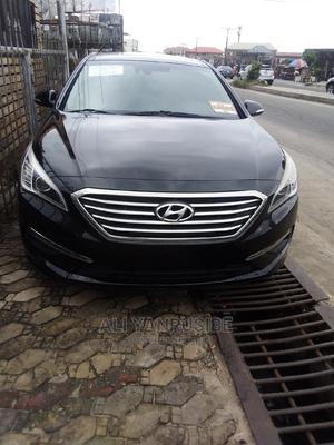 Hyundai Sonata 2015 Black   Cars for sale in Lagos State, Ajah