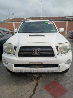 Toyota Tacoma 2008 4x4 Double Cab White | Cars for sale in Lagos State, Ojo