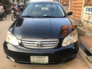 Toyota Corolla 2004 Black   Cars for sale in Lagos State, Shomolu