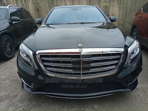 Mercedes-Benz S Class 2015 S 500 4MATIC L (V222) Black   Cars for sale in Lagos State, Amuwo-Odofin