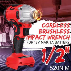 Electric Power Tool Brushless Impact Wrench Screwdriver | Electrical Hand Tools for sale in Lagos State, Ikoyi
