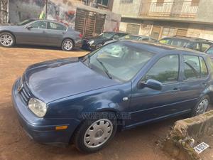 Volkswagen Golf 2002 2.0 GLS 5-Door Blue | Cars for sale in Lagos State, Ikeja