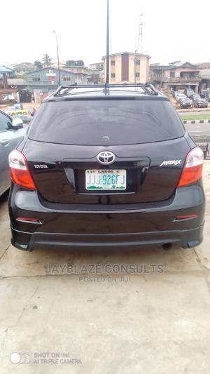 Toyota Matrix 2010 Black   Cars for sale in Lagos State, Ikorodu
