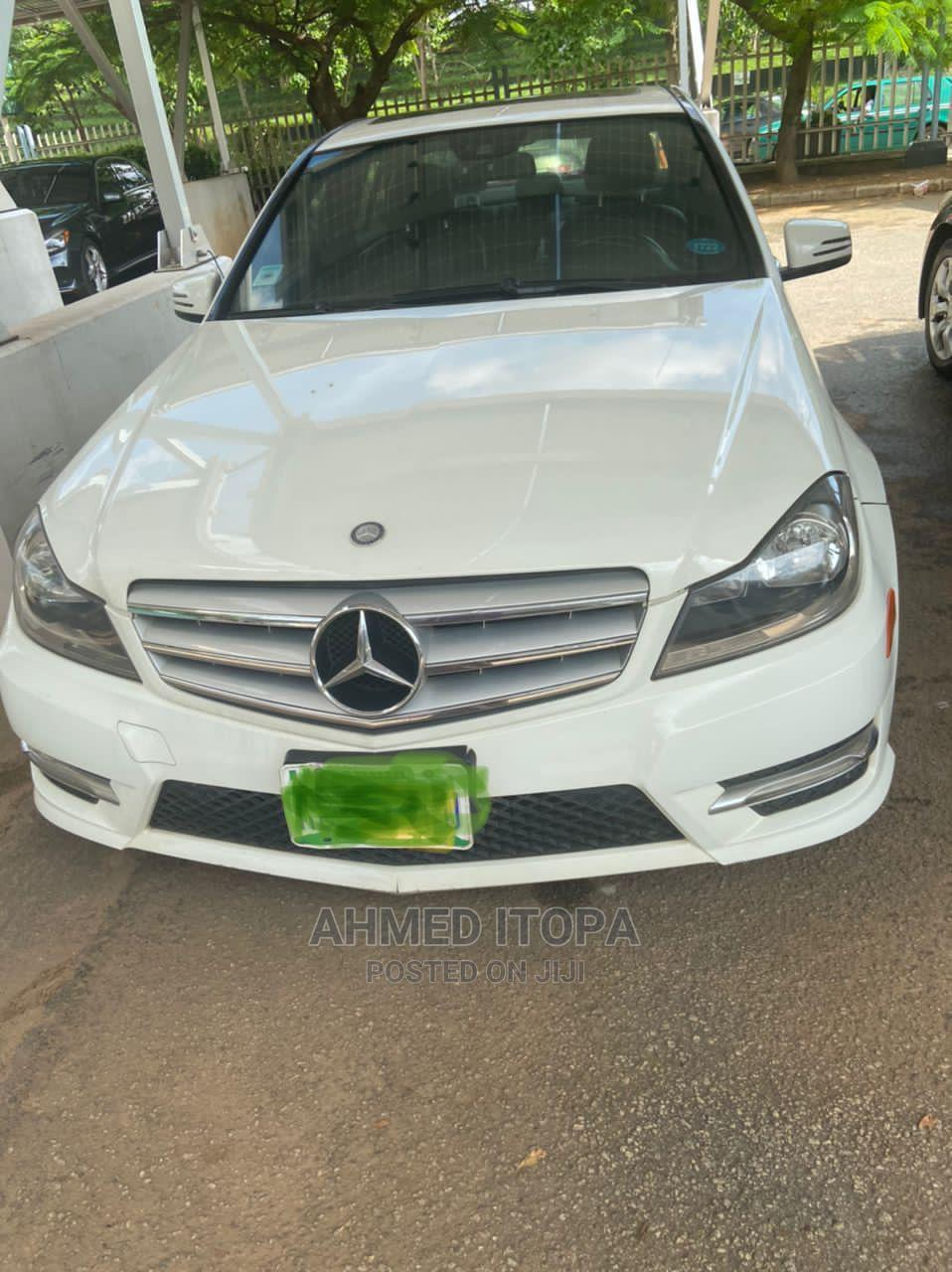Mercedes-Benz C300 2013 White
