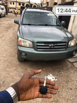 Toyota Highlander 2004 Limited V6 4x4 Green | Cars for sale in Lagos State, Yaba
