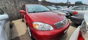 Toyota Corolla 2004 LE Red   Cars for sale in Lagos State, Apapa