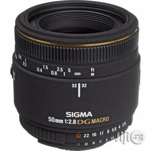 Sigma 50mm F/2.8 EX DG Macro Lens for Nikon SLR Cameras - Fixed | Accessories & Supplies for Electronics for sale in Rivers State, Port-Harcourt