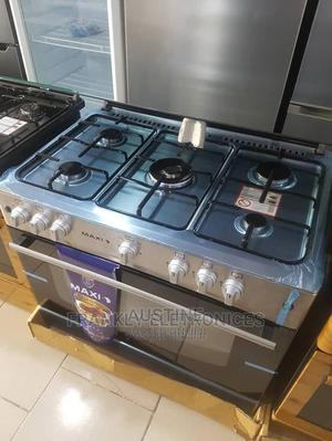 Brand New MAXI(MAXI60*90)5B)INOX- ALL Gas Standing Cooker | Kitchen Appliances for sale in Lagos State, Ojo