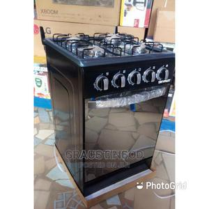 Brand New SKYRUN 50--50 Standing ALL Gas Cooker,Black Colour | Kitchen Appliances for sale in Lagos State, Ojo