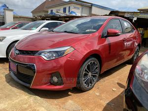 Toyota Corolla 2015 Red | Cars for sale in Lagos State, Ikorodu