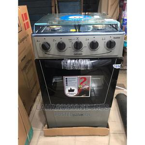 Brand New SCANFROST /(60 60)4borner All Gas Standing Cooker | Kitchen Appliances for sale in Lagos State, Ojo