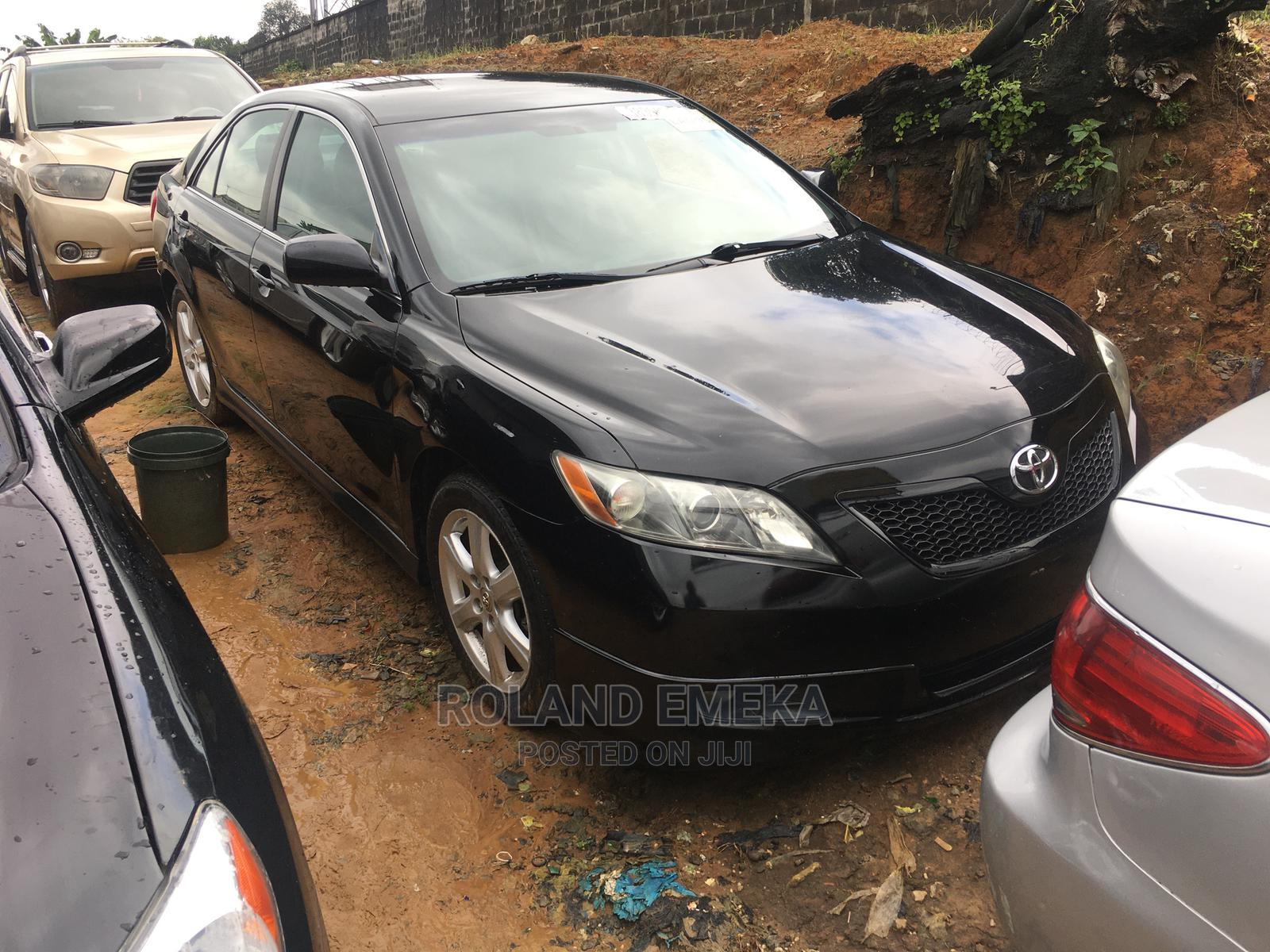 Toyota Camry 2008 Black | Cars for sale in Port-Harcourt, Rivers State, Nigeria