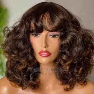 Full Fringe Wig in Honey Brown   Hair Beauty for sale in Lagos State, Abule Egba